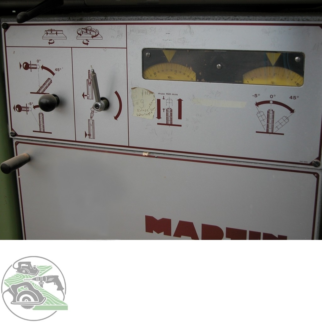 Swivel milling machine Martin Schwenkspindelfräse Typ T25 photo on Industry-Pilot