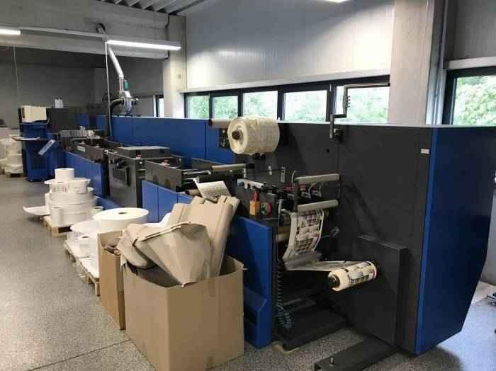 Печать этикеток, стикеров, наклеек Gallus Indigo DO 330 Digital Label printing machine фото на Industry-Pilot