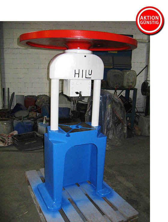 Ручной шпиндельный пресс Hiller & Lutz HILU HP 70 фото на Industry-Pilot