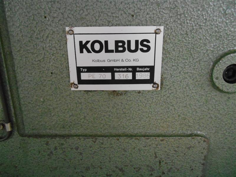 Позолотный пресс Kolbus PE 70 фото на Industry-Pilot