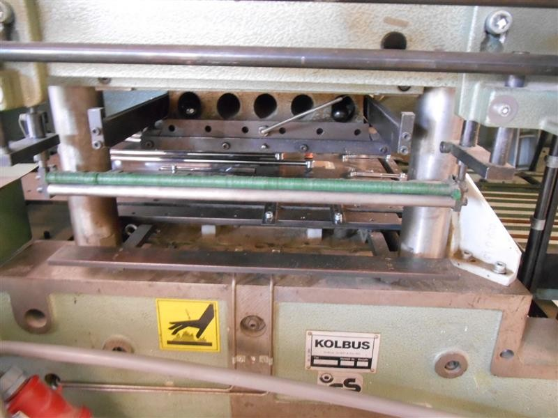 Hot stamping and embossing press Kolbus PE 311-70 photo on Industry-Pilot
