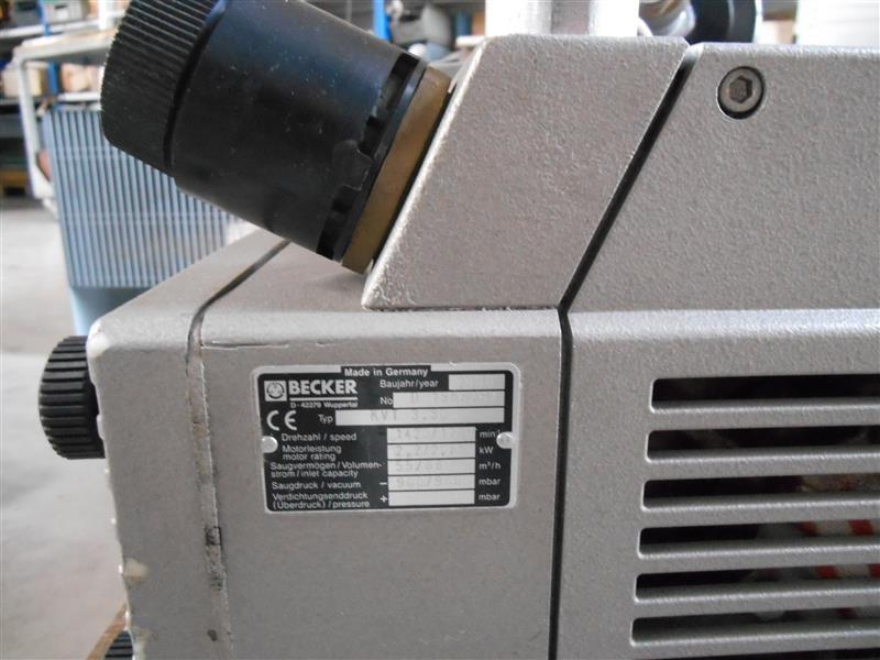 Becker KVT 3.80 фото на Industry-Pilot