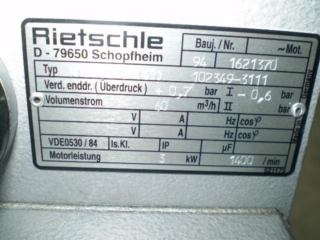 Rietschle VTA 60 фото на Industry-Pilot