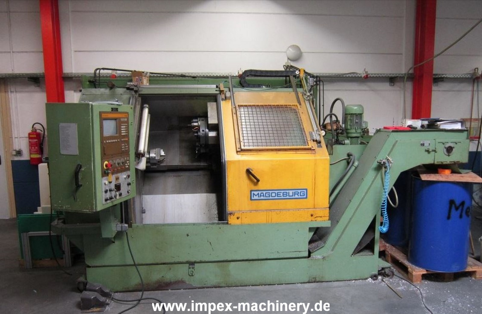 CNC Turning Machine Magdeburger DCNC402 photo on Industry-Pilot