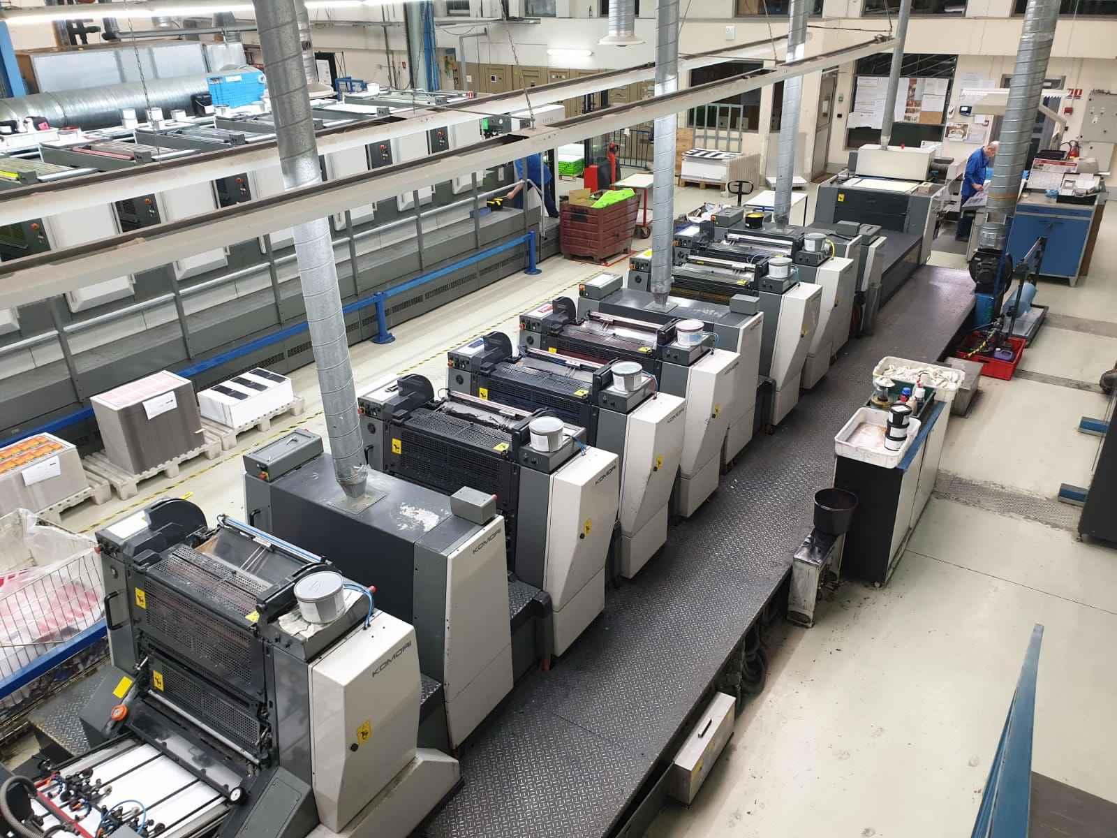 Офсетная печатная машина Komori L 628+C (1+DU+2+3+4+DU+5+6+DU+L+X) фото на Industry-Pilot