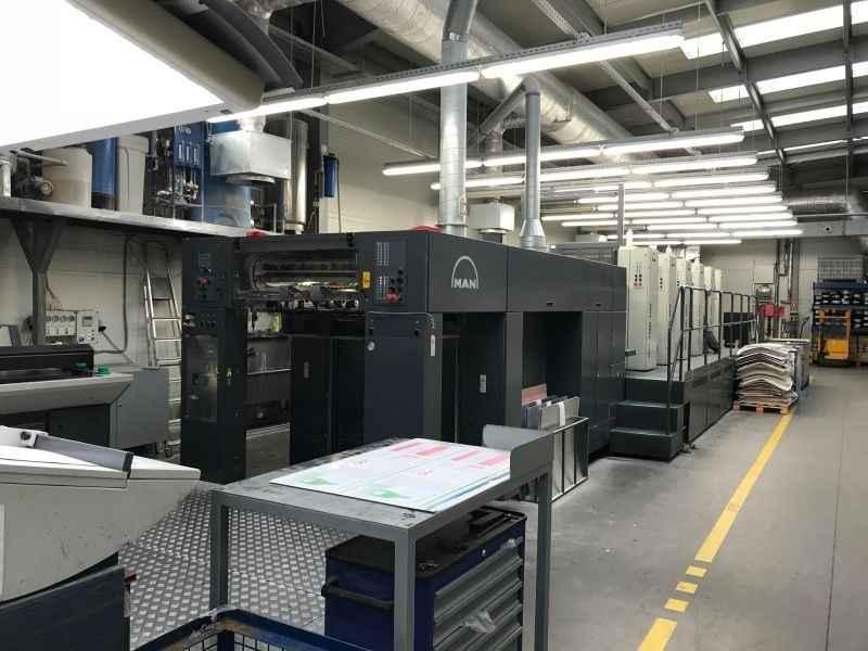 Офсетная печатная машина ROLAND 705 3B+LV фото на Industry-Pilot