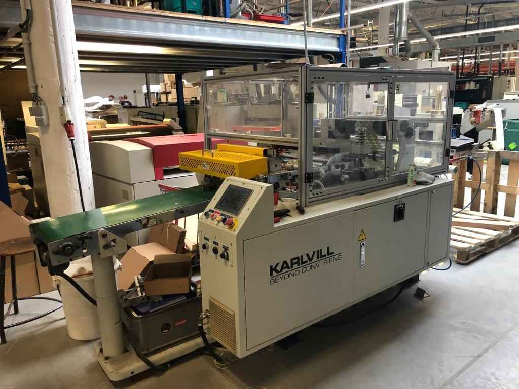 Печать этикеток, стикеров, наклеек KARVILLE CUT 400 фото на Industry-Pilot