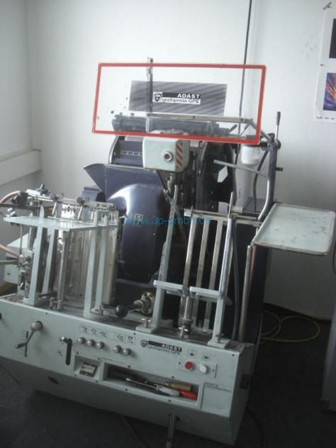 Книгопечатное оборудование Adast Grafopress Tiegel GPE Tiegel фото на Industry-Pilot