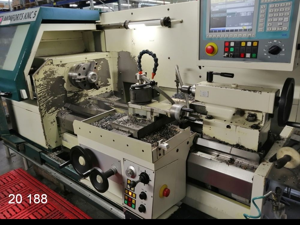 Turning machine - cycle control MONFORTS KNC 5 - 1000 / Euro-Turn photo on Industry-Pilot