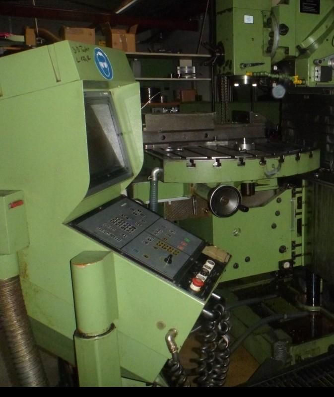 Toolroom Milling Machine - Universal MAHO MH 1000 C photo on Industry-Pilot