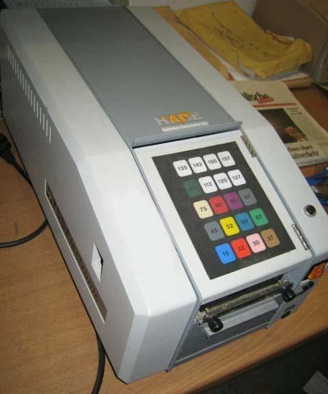 Packaging machine HADE Selectronic Vario 755 Elektronischer Klebestreifengeber photo on Industry-Pilot