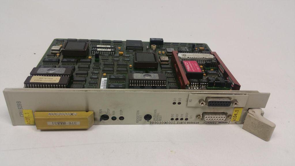 Siemens Simatic CPU 928 B 6ES5928-3UB12 E Stand 4 6ES59283UB12 фото на Industry-Pilot