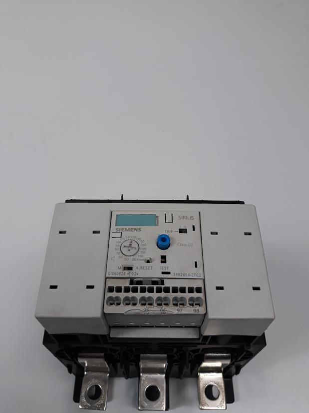 Модуль управления SIEMENS Überlastrelais 3RB2056-1FF2 4011209638273 3ZX1012-0RB20-1BA1 E03 S6  фото на Industry-Pilot