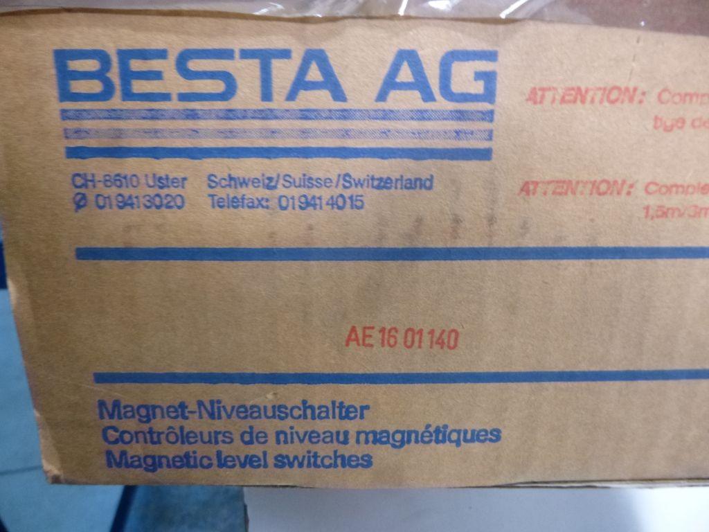 Сенсор TriMod Besta Magnet-Niveauschalter BV 005/ AE16 01 140 Niveauschalter  фото на Industry-Pilot