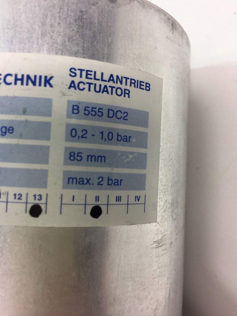 Trox B 555 DC2 Membran-Stellantrieb Actuator Stellantrieb 0,2-1,0 bar фото на Industry-Pilot