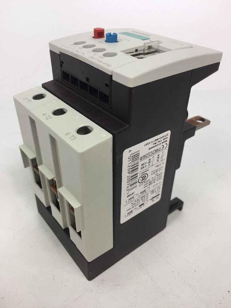 Защитный выключатель  Siemens 3RU1146-4FB0 Überlastrelais Siehe 011209300743; фото на Industry-Pilot