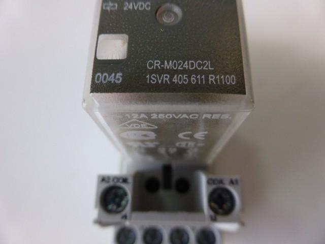 15 x ABB CR-M024DC2L Interface Relais Optokoppler + CR-M4SS 1SVR 405 651 R1100 фото на Industry-Pilot