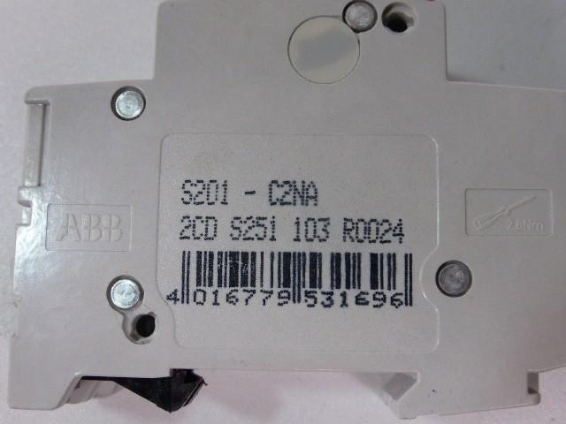 Защитный выключатель 2 x ABB S201-C2NA 2CD S251 103 R0024 Sicherungsautomat Leistungsschutzschalter фото на Industry-Pilot