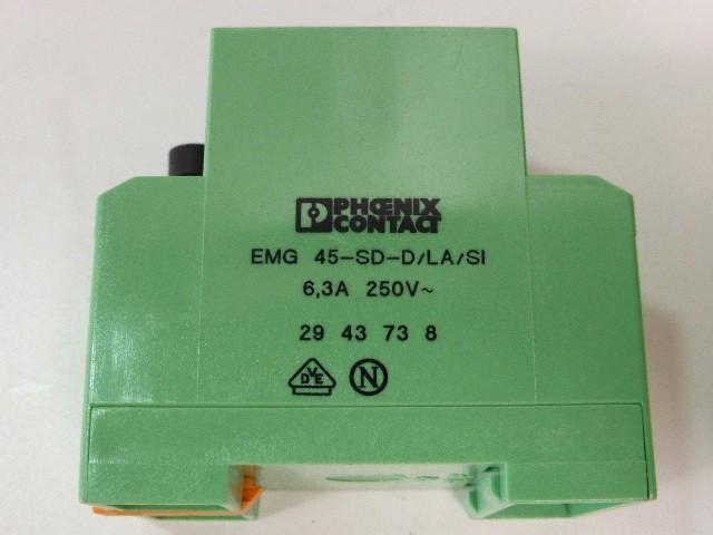 2x Stück Phoenix Contact EMG 45-SD-D/LA/SI Schienenmontable Steckdose 5x 20 mm фото на Industry-Pilot