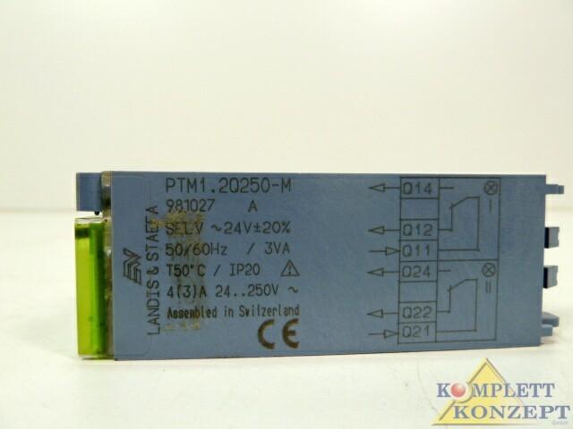 Защитный выключатель 2x Stück Siemens PTM1.2Q250-M Schaltmodul Modul PTM1 2Q250-M фото на Industry-Pilot
