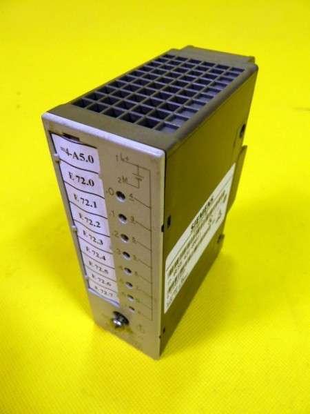 3 Stück Siemens Simatic S5 6ES5 431-8MA11 6ES5431-8MA11 6ES54318MA11 Digital Input фото на Industry-Pilot