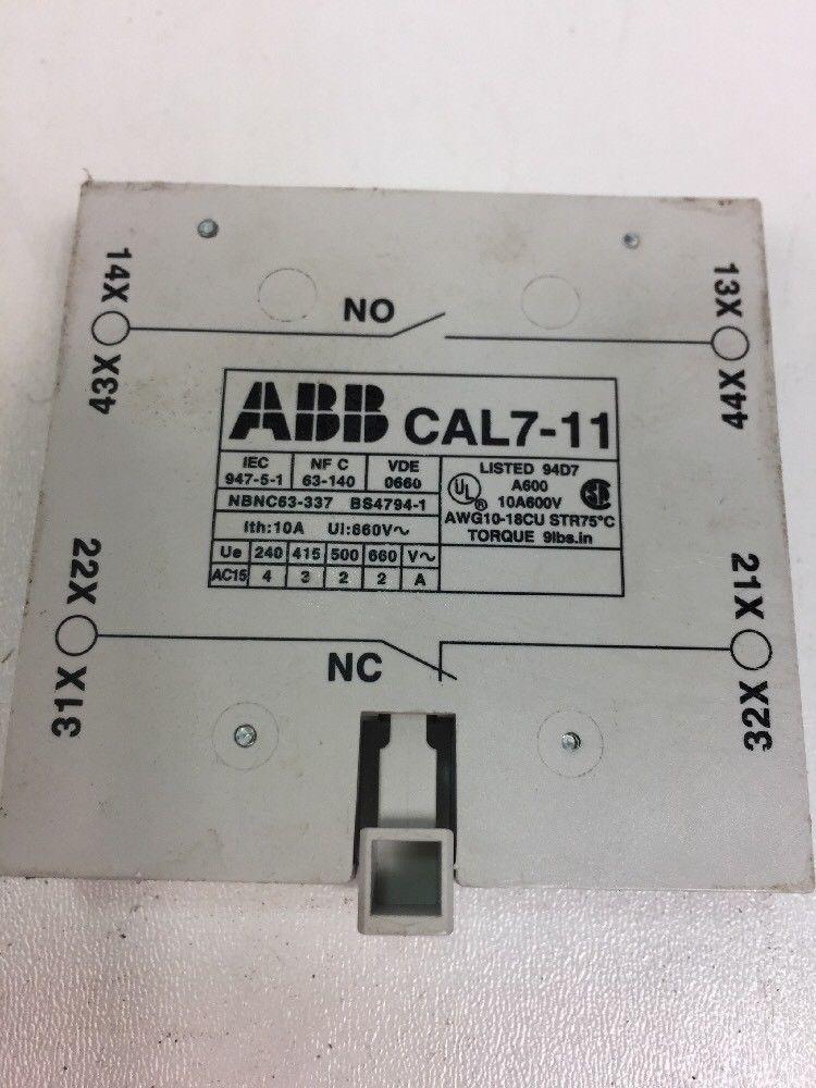 Защитный выключатель 3x ABB B50 Leistungs Schütz 400V 22 KW, 230V 15KW фото на Industry-Pilot