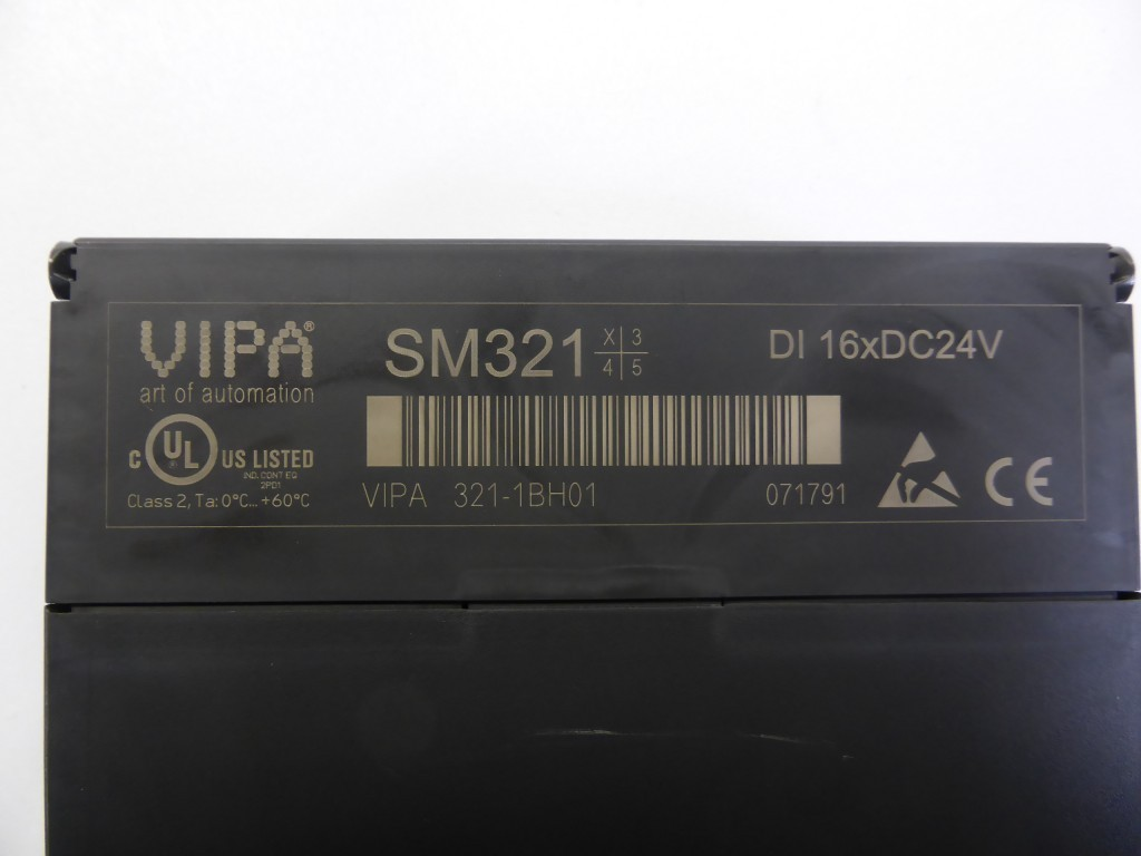 3x Stück Vipa 321-1BH01 SM321 Digitale Eingabe 16xDC24V фото на Industry-Pilot