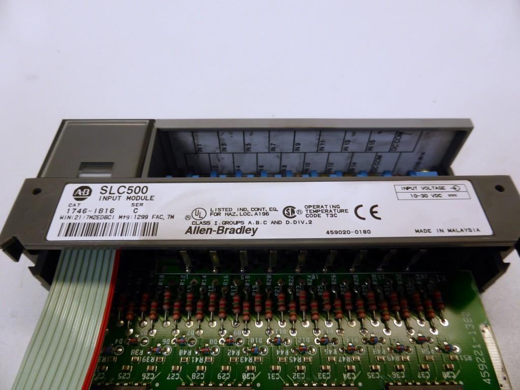 AB Allen Bradley 1746-IB16 SLC 500 DC Input Modul I/O Module фото на Industry-Pilot