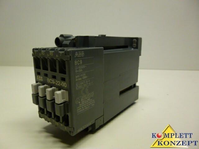 Защитный выключатель ABB BC9-22-00 Schütz 24V DC FPL1413501R0001 Schütze BC фото на Industry-Pilot