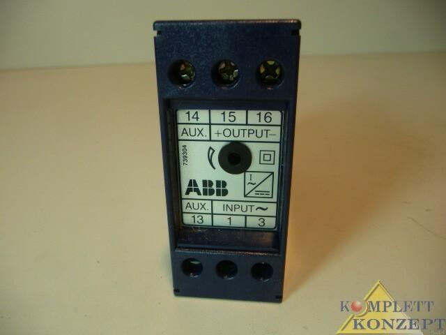 Сенсор ABB GTU 0750 GTU0750 Messumformer фото на Industry-Pilot