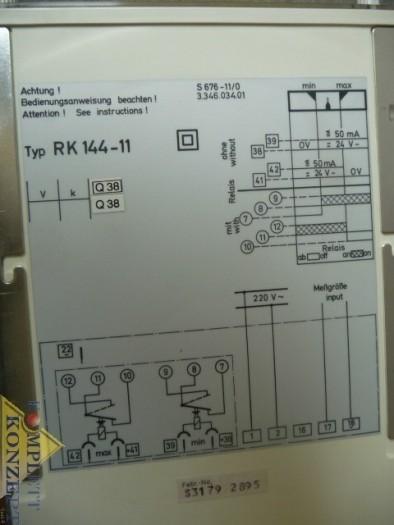 ABB Metrawatt RK 144-11 Grenzsignalgeber 40kW фото на Industry-Pilot