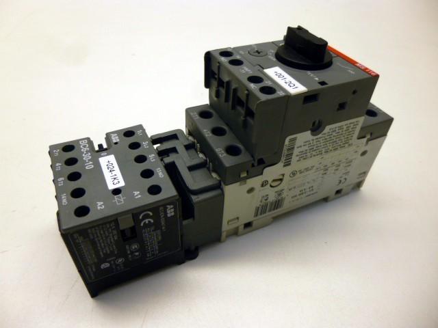 Защитный выключатель ABB Motorschutzschalter Schütz Schutzschalter MS 116 - 0,63 фото на Industry-Pilot