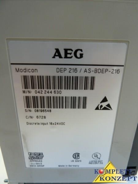 AEG Modicon Digitale Eingabebaugruppe DEP216 фото на Industry-Pilot