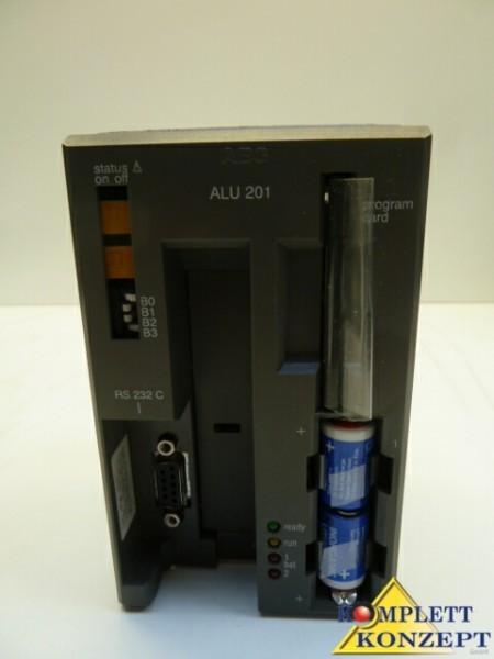 AEG Modicon SPS A120 ALU 201 CPU Zenraleinheit + Eprom Card фото на Industry-Pilot