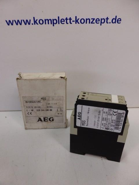 Защитный выключатель AEG MSS Motorschutz Relais 250V 4A E Nr. 91034410000 фото на Industry-Pilot