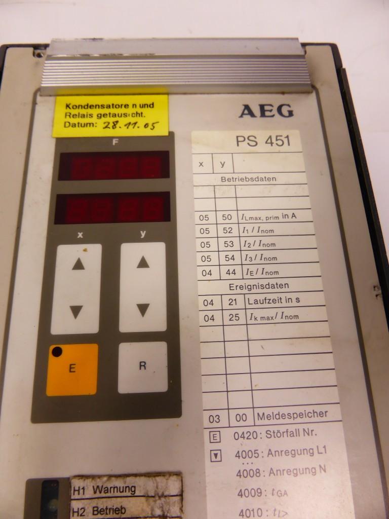 Защитный выключатель AEG PS 451 Überstromzeitschutz Schutzmodul фото на Industry-Pilot