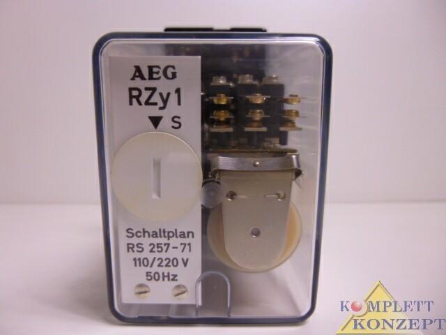 Реле AEG RZy 1 Transistor Zeitrelais фото на Industry-Pilot