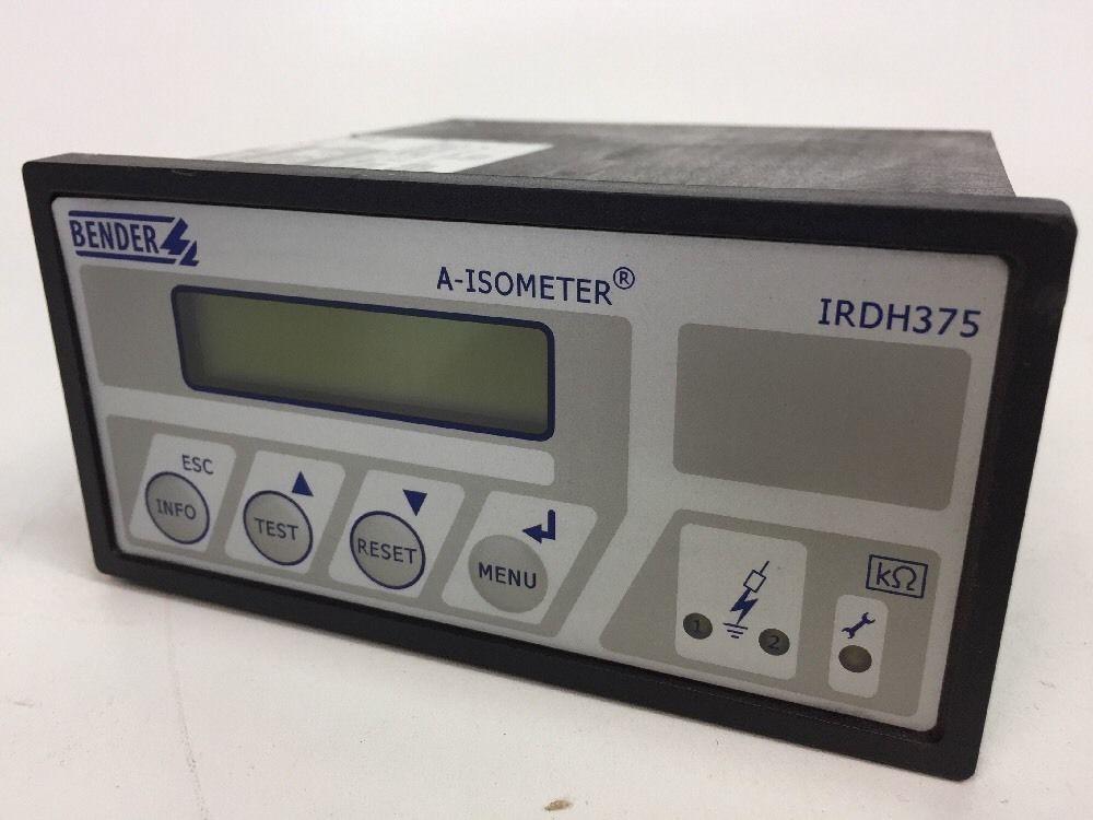 Защитный выключатель Bender A-Isometer IRDH375 435 , IRDH375-435 Isolationsüberwachungsgerät фото на Industry-Pilot