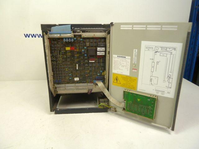 Модуль управления Siemens SIMOVERT P 6SE1207-2AA00 DA400 D400/9.5 6,5KVA Frequenzumrichter фото на Industry-Pilot