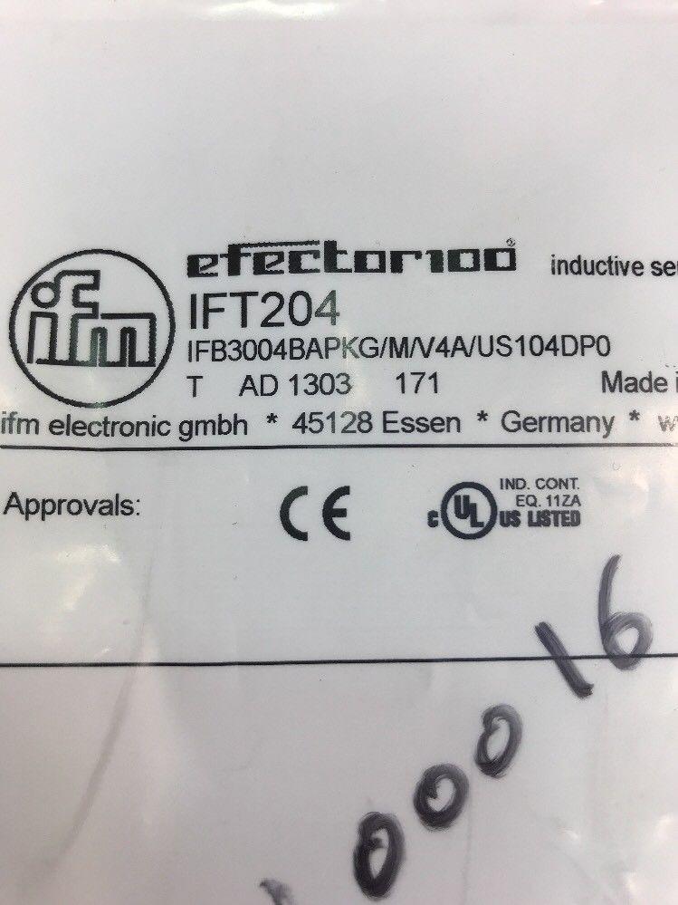 Сенсор Ifm IFT204 IFB3004BAPKG/M/V4A/US104DP0 Reflexlichtschranke Retro-reflective фото на Industry-Pilot