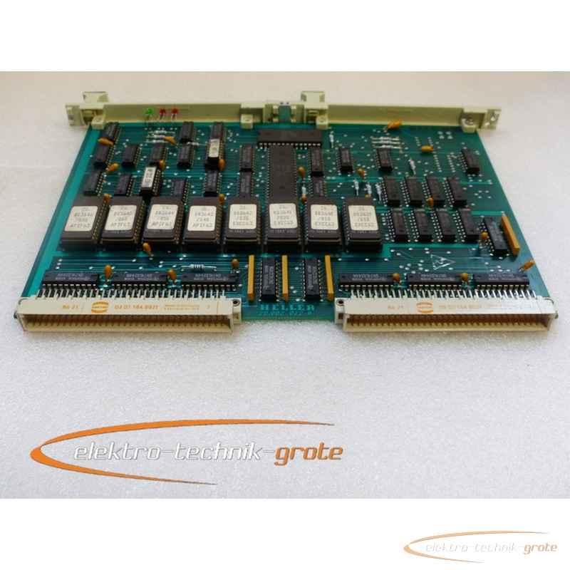 Heller Heller  CPU 67 20.002 022-6 Karte gebraucht guter Erhaltungszustand фото на Industry-Pilot