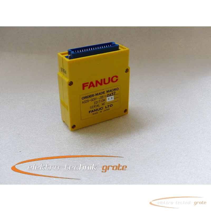 Fanuc Fanuc Macro LTD A02B-0091-J551 #0A32 Edition 09 фото на Industry-Pilot