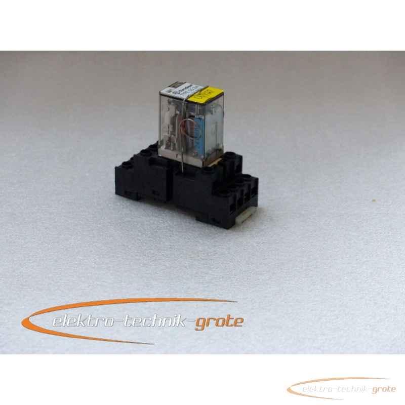 Finder 55.34 Miniatur-Steckrelais 24V = DC Spule mit94.74 Sockel фото на Industry-Pilot
