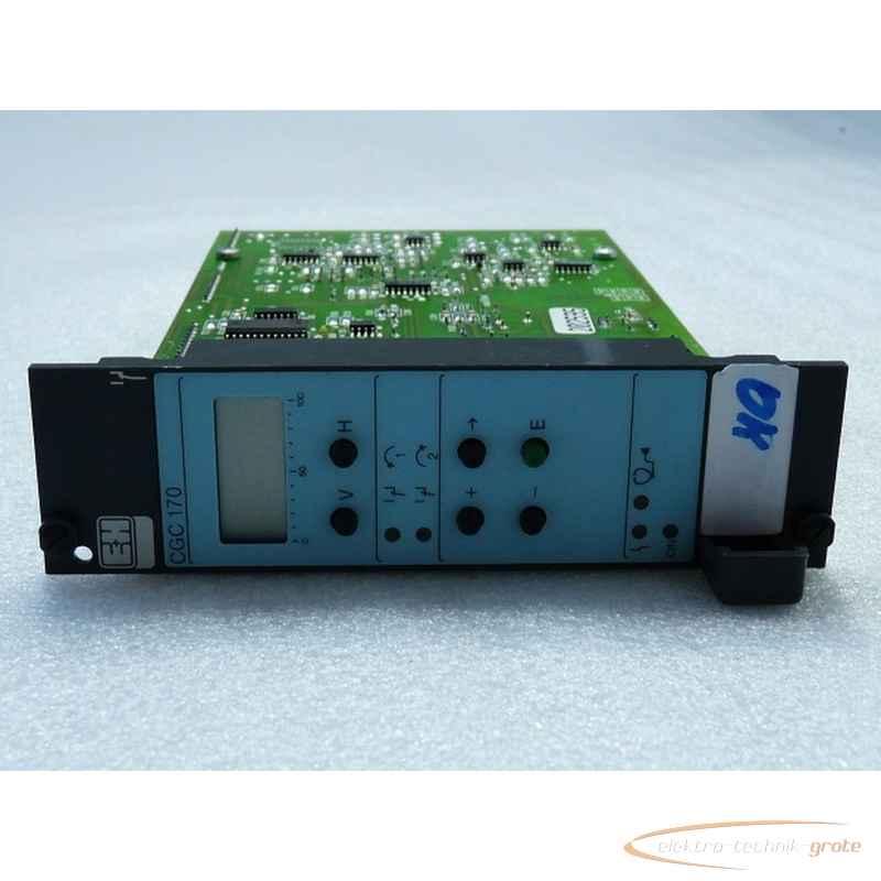 Панель управления Endress Hauser Endress HauserCGC 170-20 Rackbus interface Nr 104 000-2000 фото на Industry-Pilot