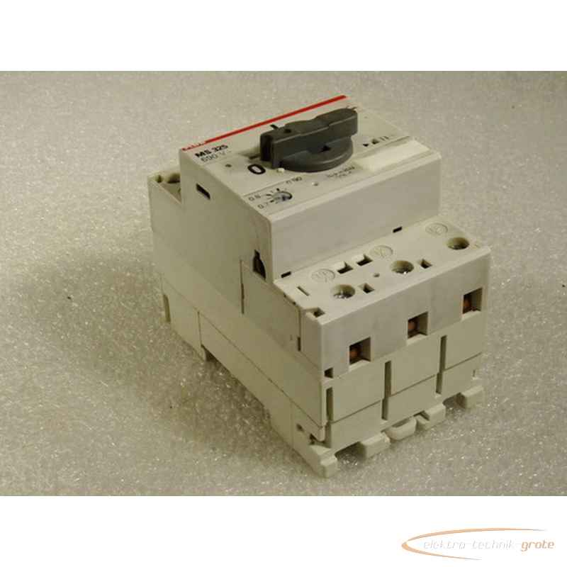 Защитный автомат электродвигателя ABB MS 325690 V фото на Industry-Pilot