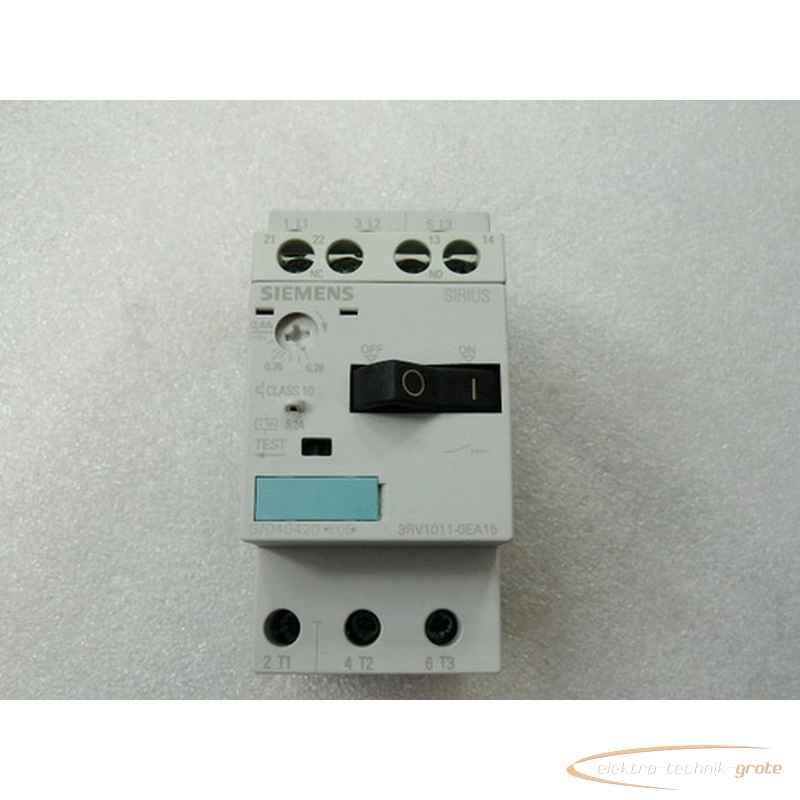 Siemens Siemens RV1011-0EA15 Sirius Leistungsschalter max 0 , 4A mit 3RV1901-1E Hilfsschalter фото на Industry-Pilot