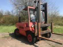 4-wheel forklifts LINDE H 60 DW photo on Industry-Pilot
