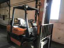 4-wheel forklifts TOYOTA 02/5FGF30 photo on Industry-Pilot