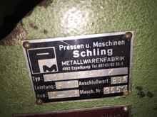 Кривошипно-коленный пресс - двухстоечный SCHLING UNI 3 PNK фото на Industry-Pilot