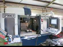 Machining Center - Vertical SPINNER MVC 1100 840 D SL Shop Mill photo on Industry-Pilot